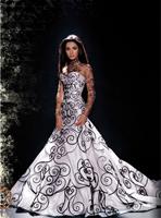 пышные длинные платья