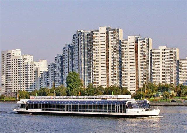 аренда теплохода в Москве